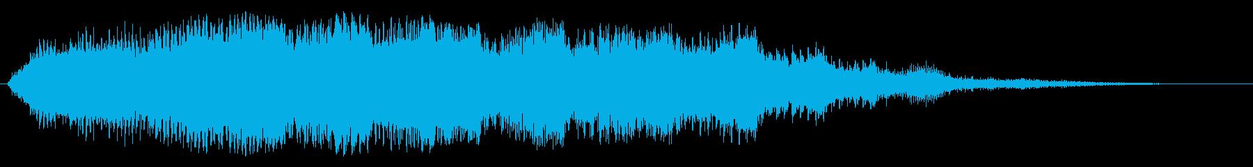 パワースライスの再生済みの波形