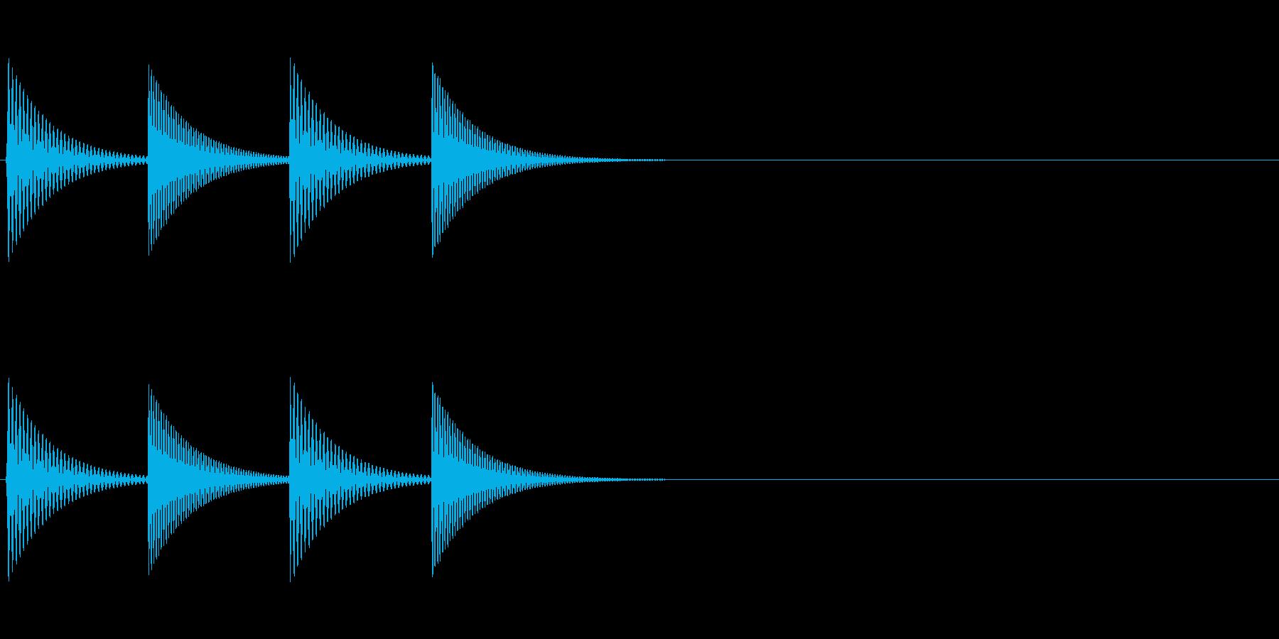 通知音//発見//お知らせ_05の再生済みの波形