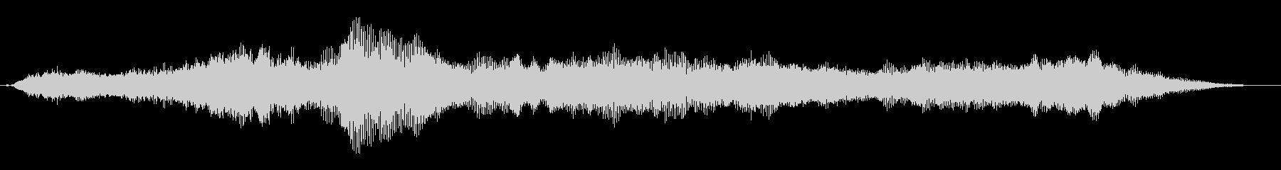 トランジション パッドスイープシズル03の未再生の波形
