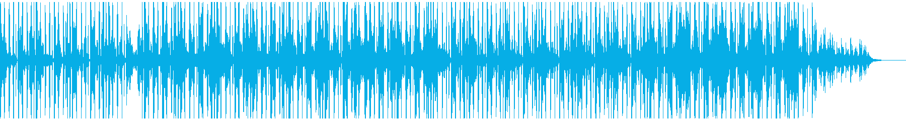 都会的でゆったりとしたおしゃれなサウンドの再生済みの波形