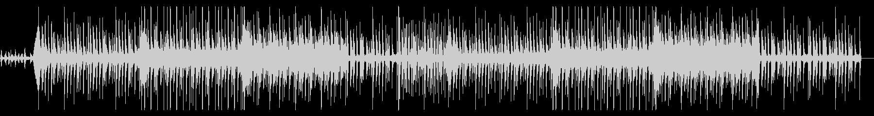 不思議テイストのBGM風エレクトロ楽曲の未再生の波形