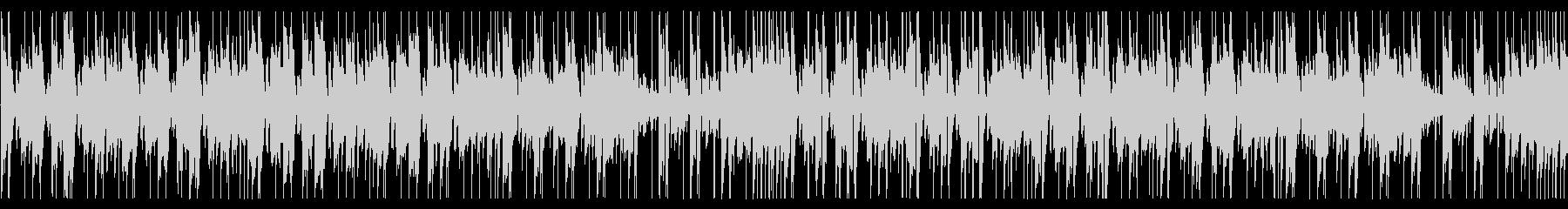 パズルゲームに合うシンセポップの未再生の波形