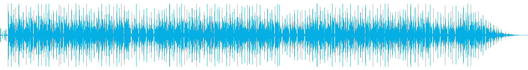 年末年始の定番「第九」脱力系アレンジの再生済みの波形