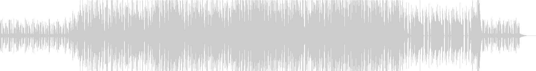 シンセベースが印象的なパズルゲームBGMの未再生の波形