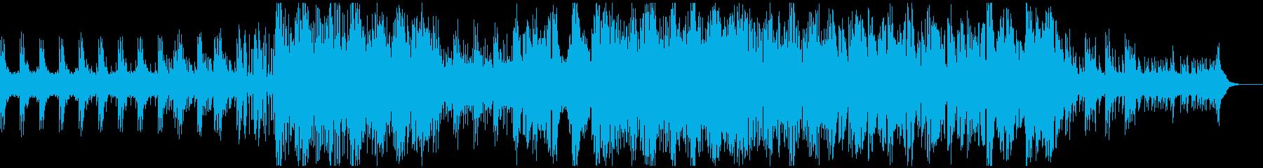 【トークに最適化】落ち着くエレクトロニカの再生済みの波形