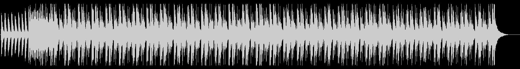登場シーンで流れるBGMの未再生の波形