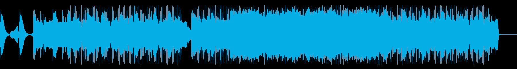 不思議な世界の日常-リズム入りの再生済みの波形