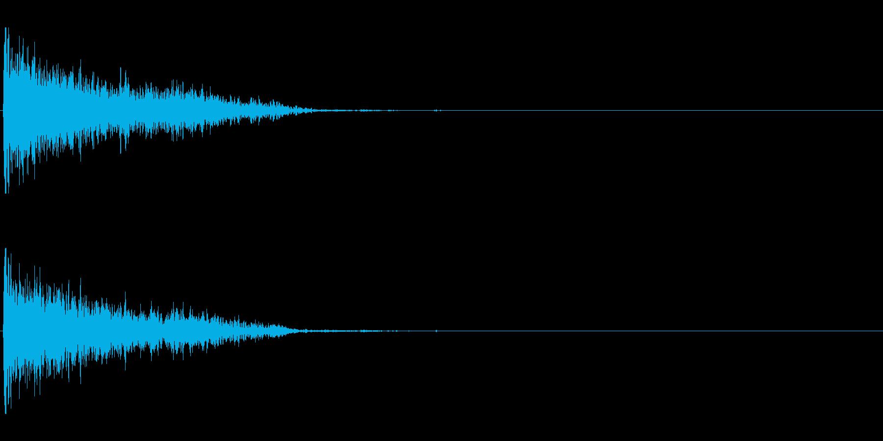 爆発;木屑06の再生済みの波形