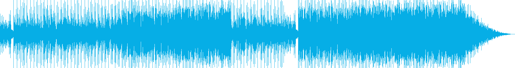 カントリー系インストゥルメンタルの再生済みの波形