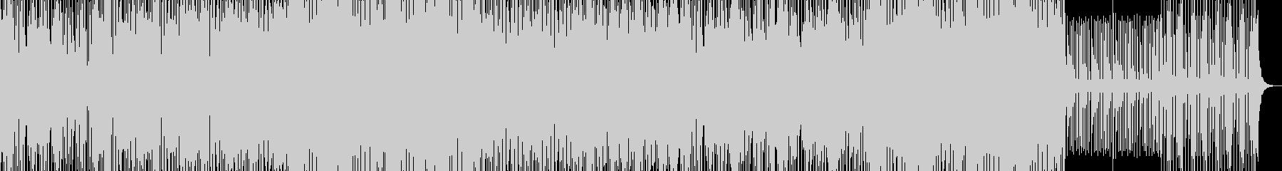 【CM】ダークな雰囲気・ドラムンベースの未再生の波形