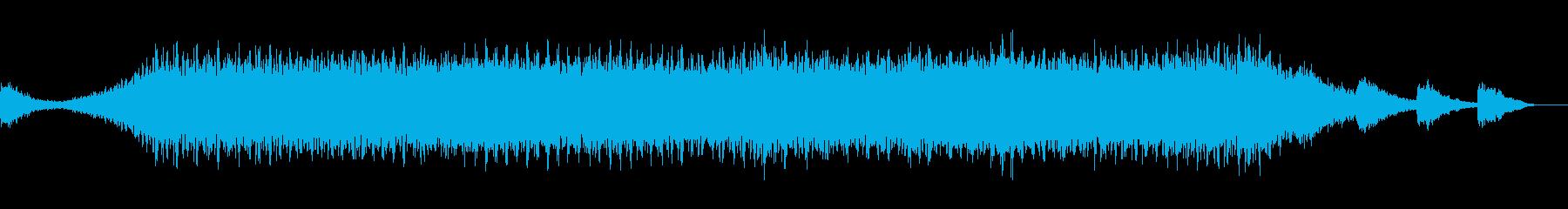 宇宙っぽいアンビエントの再生済みの波形