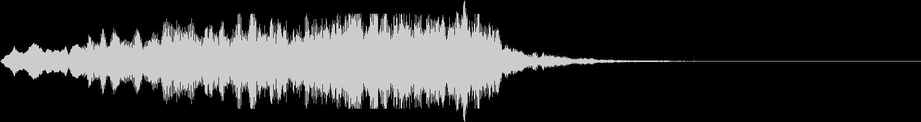 ボーイソプラノ2 アート芸術聖歌 10秒の未再生の波形