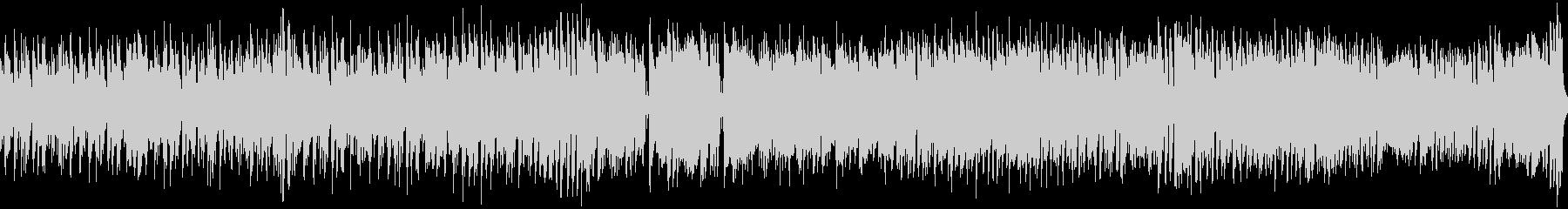 陽気なトロピカルBGM(ループ)の未再生の波形