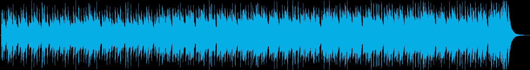 軽快切ない哀愁レゲエラテンヒップホップcの再生済みの波形