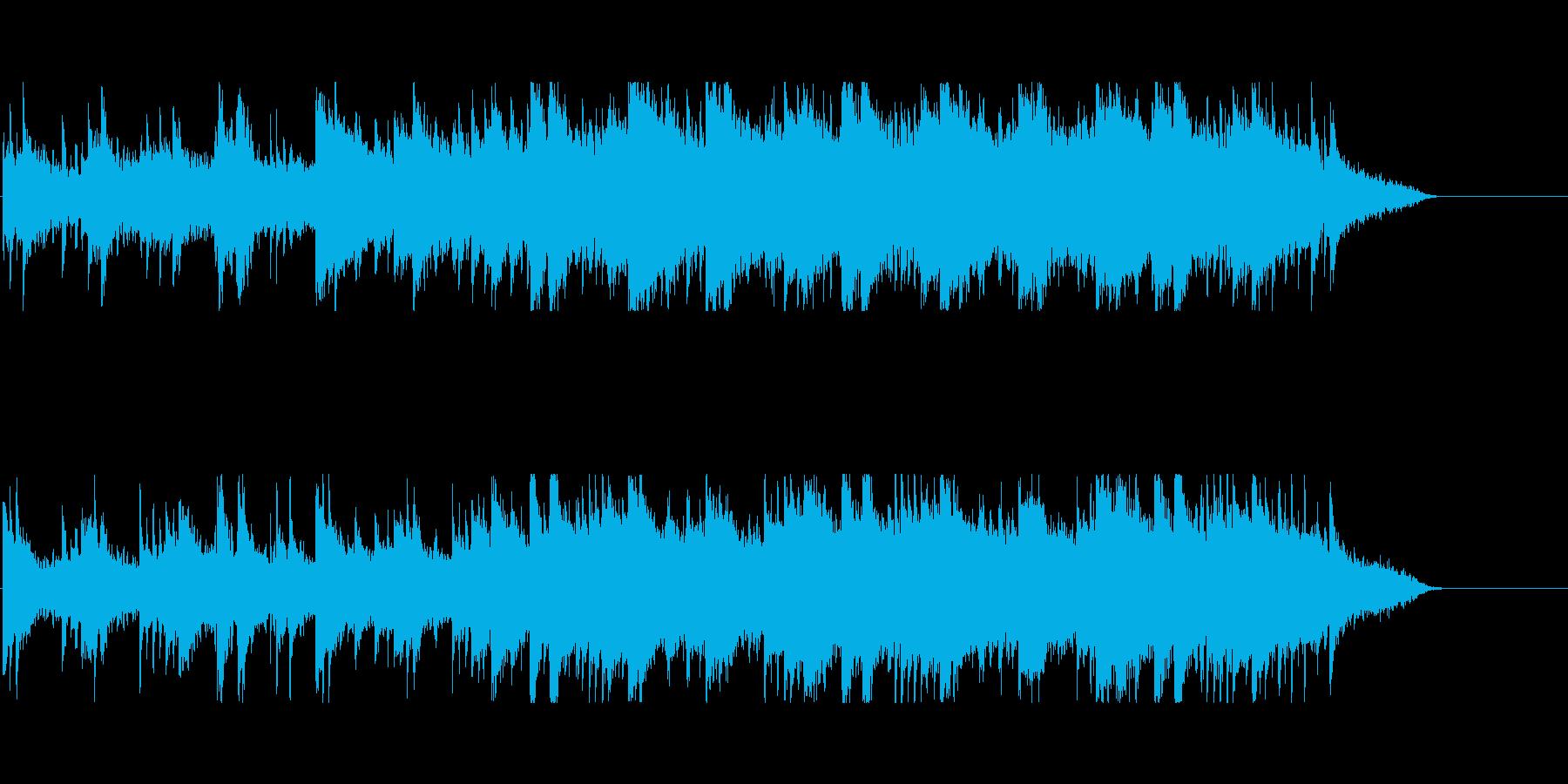 幻想 神秘 朝 川 水 星 自然 目覚めの再生済みの波形