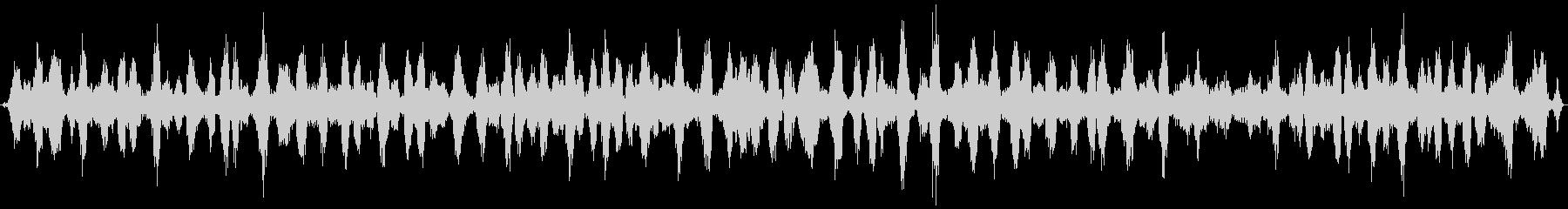 カエルの合唱 (約30秒)の未再生の波形