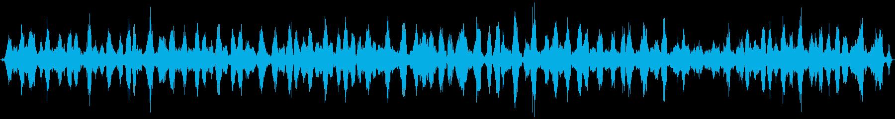 カエルの合唱 (約30秒)の再生済みの波形