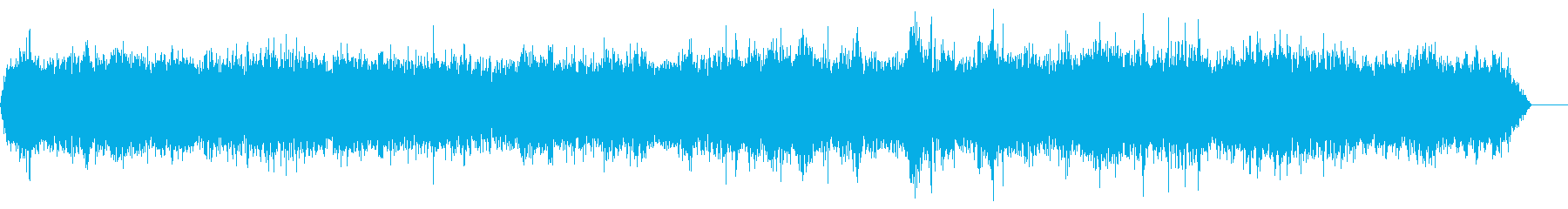 バッスル8アニメーションスペインの再生済みの波形