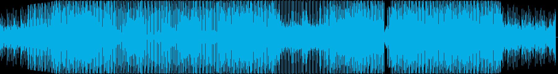 明るく楽しい気分を盛り上げてくれるEDMの再生済みの波形