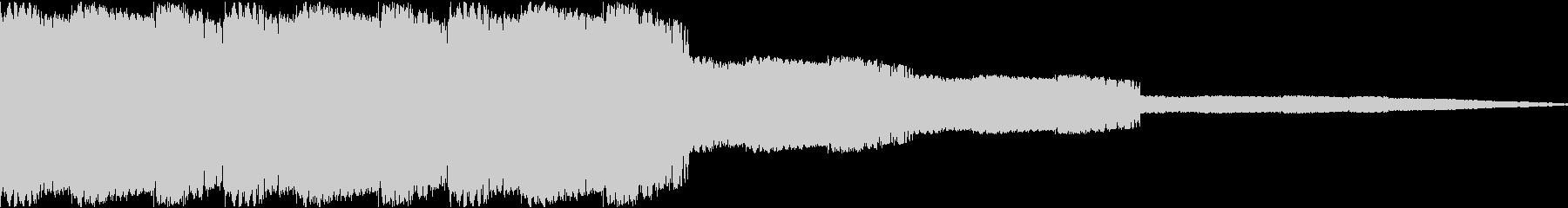 ピロピロ(遊技機 警告 上乗せ)の未再生の波形