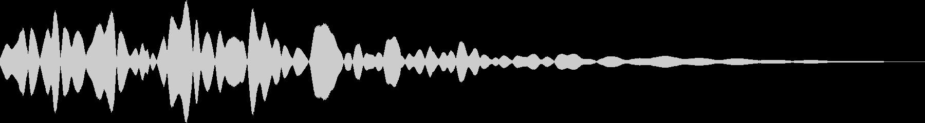 チリン(鈴 風鈴 タッチ音)の未再生の波形