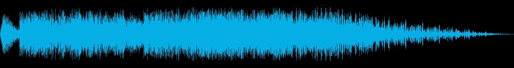 天体イベント1の再生済みの波形