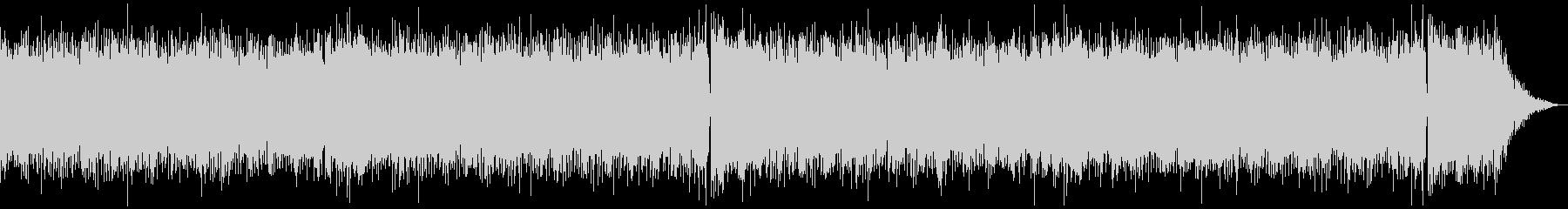 テケテケサウンドのサーフミュージックの未再生の波形