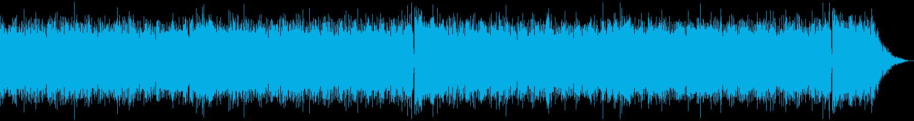 テケテケサウンドのサーフミュージックの再生済みの波形