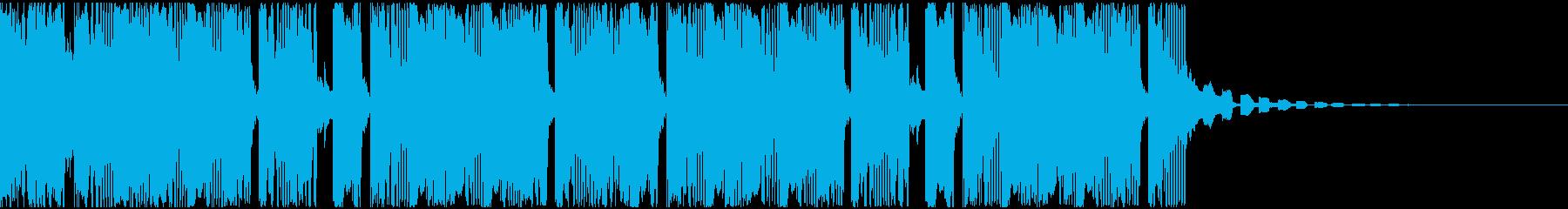 【アンビエント】ロング2、ショート5の再生済みの波形