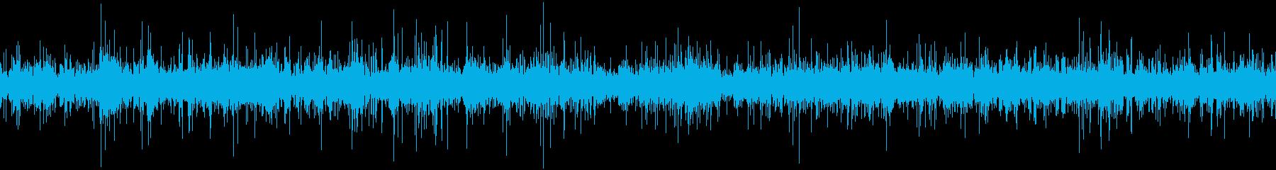 「カラカラ…」風にそよぐ3の再生済みの波形