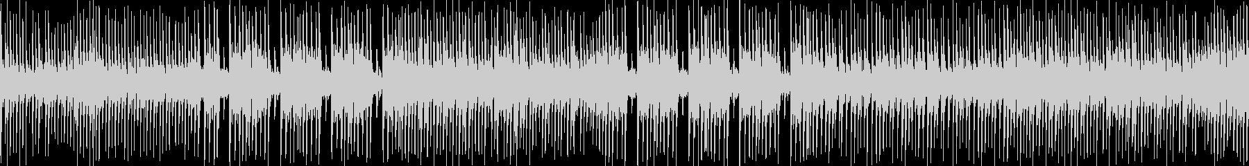 生演奏三味線と和太鼓 和風を伝えるBGMの未再生の波形