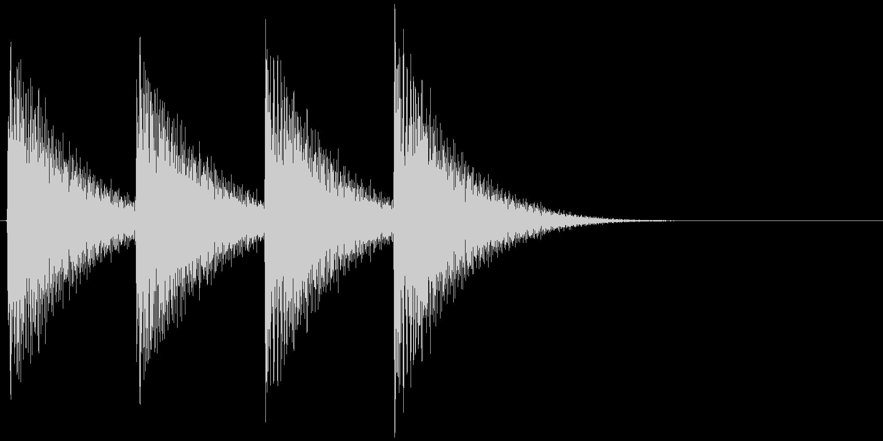 ギュインギュイン...(アラート、危険)の未再生の波形