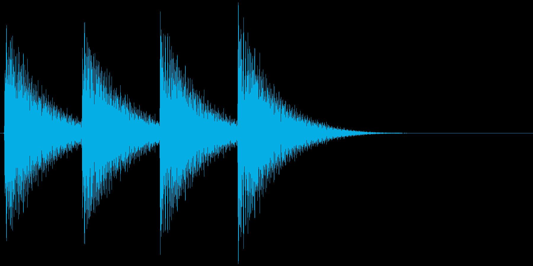 ギュインギュイン...(アラート、危険)の再生済みの波形