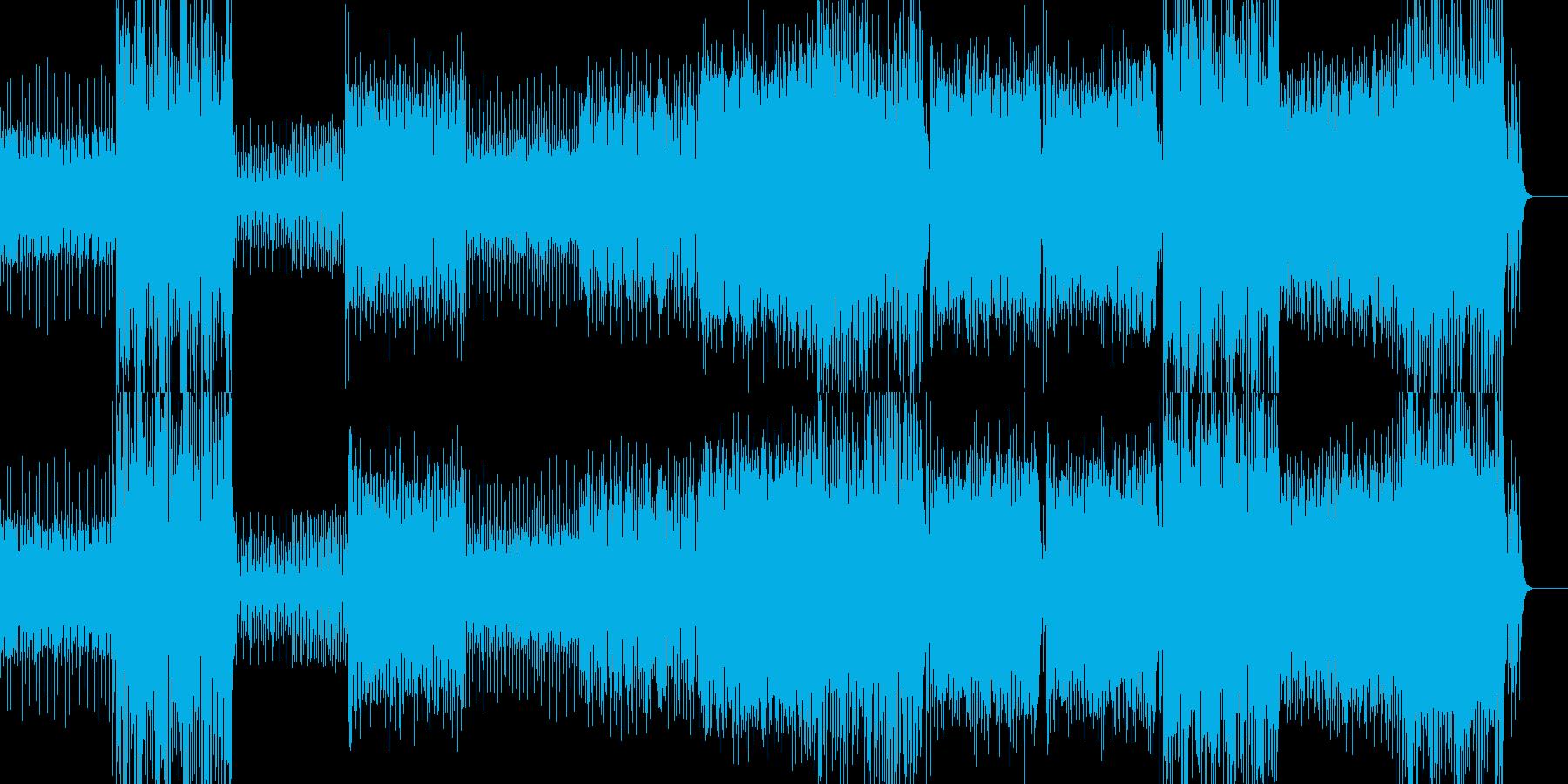 壮大で重厚なトランス -ヒットありverの再生済みの波形