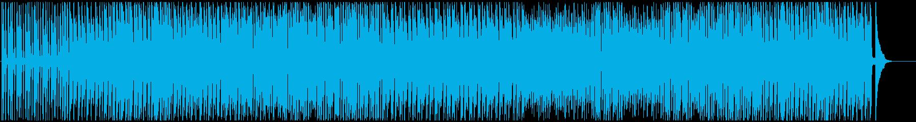 軽快なテーマパークピアノジャズ♫の再生済みの波形