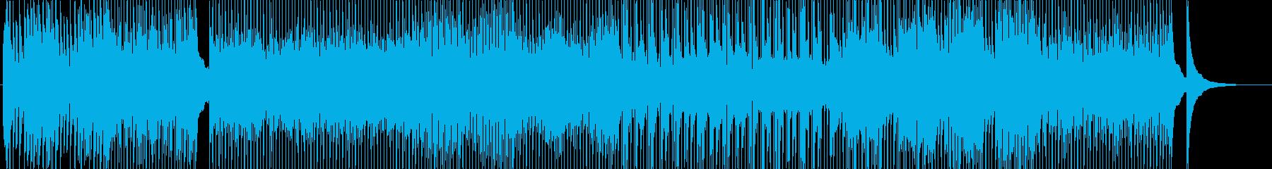明るいOP-番組-TV-アニメ-アタックの再生済みの波形