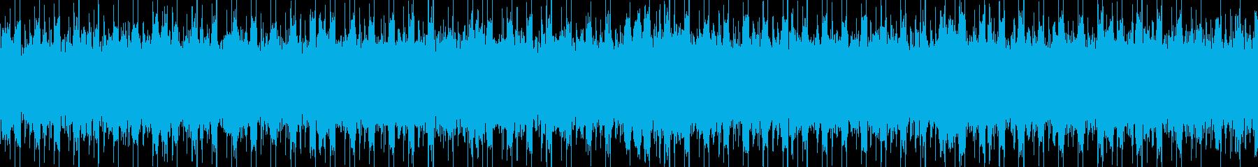 メタル系リフが印象的なジングルの再生済みの波形