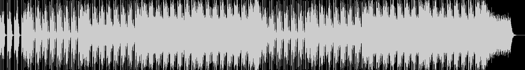 ロック、ミディアムテンポ、シンセリードの未再生の波形