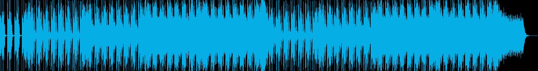 ロック、ミディアムテンポ、シンセリードの再生済みの波形