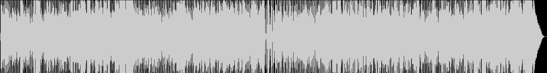 軽快なJazz系カントリー楽曲の未再生の波形
