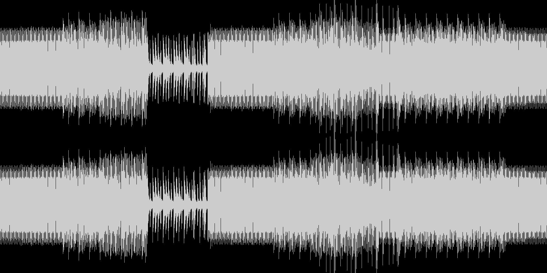 ディープ・ハウス。の未再生の波形