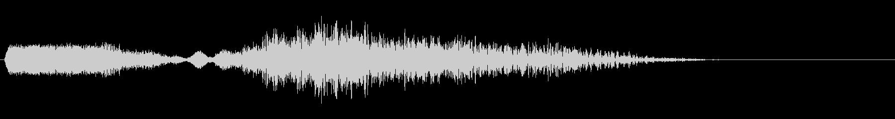 ロボットのバーニアブースト音。の未再生の波形