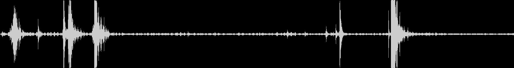 スカウトトラック:後部ハッチの開閉。の未再生の波形