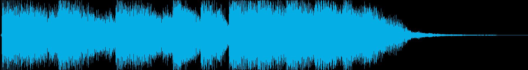 オリジナル発車メロディー2の再生済みの波形