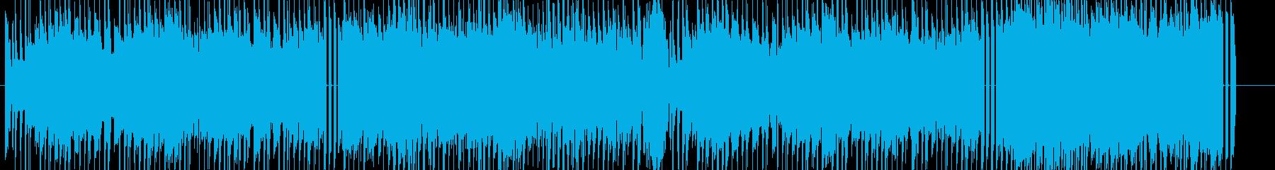 ほのぼのとしたエレクトロニカの再生済みの波形