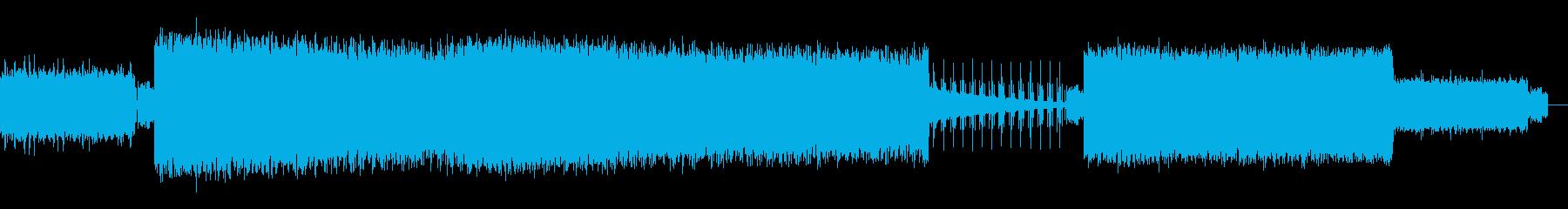 洋楽風バカっぽい女性ボーカルのアゲアゲ曲の再生済みの波形