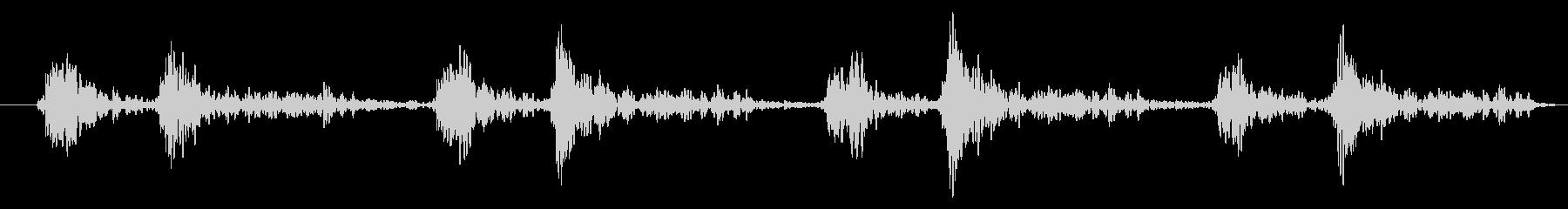 「ドクン!」心臓心拍、鼓動音ループ可能2の未再生の波形