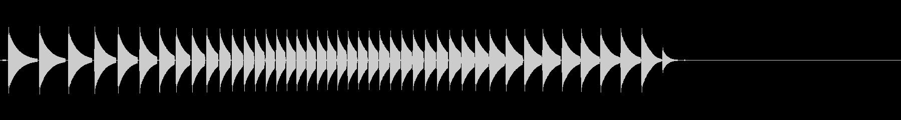 KANTクリックスクロール効果音2086の未再生の波形