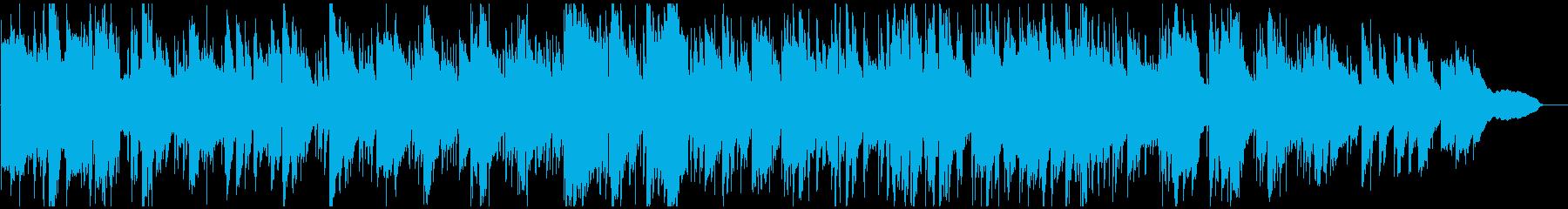爽やかフレッシュなエレピ&サックス、綺麗の再生済みの波形
