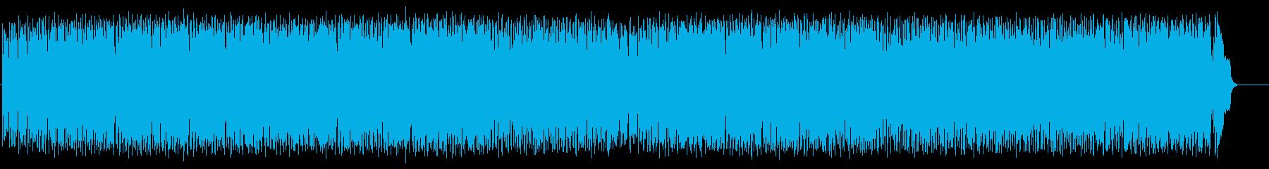 前向きなフュージョン(フルサイズ)の再生済みの波形